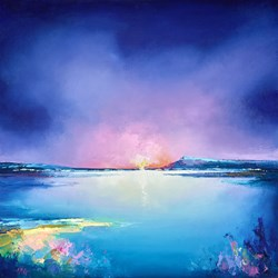 Cold Dawn by Anna Gammans - Original Painting on Stretched Canvas sized 20x20 inches. Available from Whitewall Galleries
